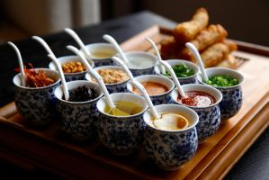 Chinese Food Condiments by Jerry-she