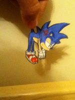 sonic paper child 2 by Toastyhedgehog