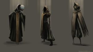 Lost Soul Concept Sketches by BABAGANOOSH99