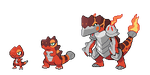 004, 005, 006 Fire Starters by SirAquakip