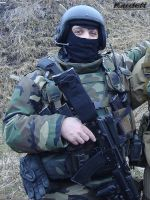 Russian spetsnaz with AK-74M 2 by Garr1971