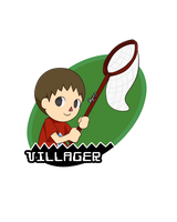 SSB Villager by LowRend