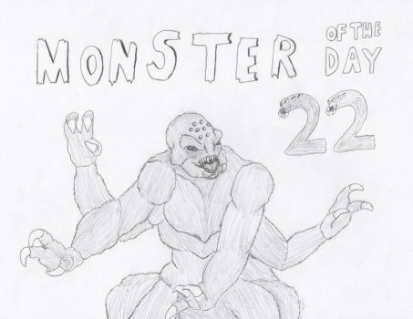 Monster of the Day 22 by gojira92