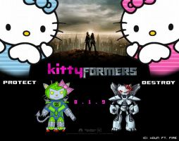 Kittyformers collab by RideFire