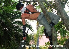 Zabuza in Tree Jacon 08 by Archercalloway