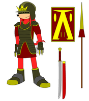 Ancient Echidna Armament by Area4432