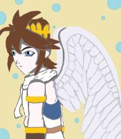 Pit from Kid Icarus: LaylaAlvedo request by animedugan