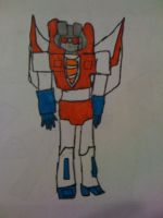 Starscream drawing colored by Decker-Matty