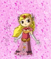 Beautiful Princess Zelda. by Zimed