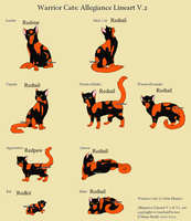 Redtail's Stages by skyclan199