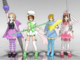 Magical Girls... for the umpteenth time by SilverStarlite
