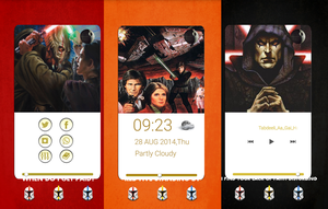 star wars home screens by akhwandk
