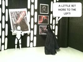 Vader decorated his Room by EmpireStripsBack