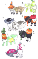 Adoptables -Closed- by Goldfishtoothbrush