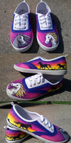 Custom Shoes: Wild At Heart by Coloran