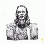 Loki Staring Up... by MyWorld1