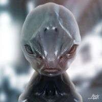 Alien 3 by AlexanderLevett
