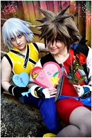 Happy Valentine's Day - Love - Riku + Sora by ShinraiFaith
