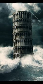 Leaning Tower Of Pisa by MelissaGriffin