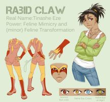 Superhero OC - Rabid Claw by piku-chan