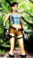 Lara Croft Jungle by KSE25