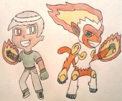 [DCM Task] Gloves and Infernape Ignite! by OscarK9