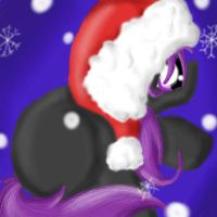 Little Enderpony's Christmas by SpectralPony