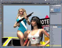 The Burning Babes Gang Cover - W.I.P by ratorama