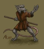 Splinter by bugsandbears