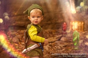 Little Link Finds Treasure by eric3dee