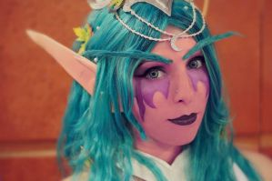 Tyrande Whisperwind cosplay by Lucy (3) by LucyWindrunner