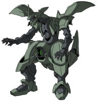 ovv-af Danazine (mobile suit mode) by unoservix