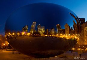 Reflections of Chicago by MirMidPhotos