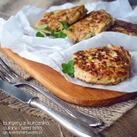 chicken and zucchini burgers with feta cheese by Pokakulka