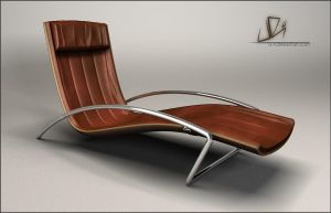 leather chair by yurishopa
