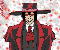 Alucard -Colored- by angelrinoa