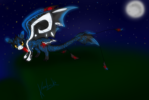 Kuu The NightFury by Nixhil