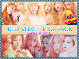 Red Velvet Png Pack by Angelicapark