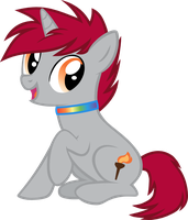 Torch's Official Debut by BatmanBrony