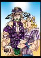 Fan art nr1: Gyro and Johnny by Carromic