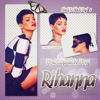 Rihanna PNG pack by semkar