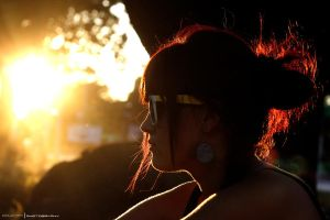 sunset portret. by chillpaper