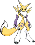 Digimon Renamon shirt design by kaizerin