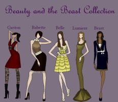Beauty and Beast Collection by TheWhiteSwan