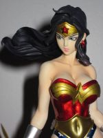 Wonder Woman Close-up by GunarmDyne