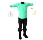 Trailblazer Medical Smock and Gadgets by NVent3d