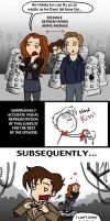 DW SPOILERS: Love in the Time of Daleks by blackbirdrose
