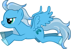 MLP Pony Creator: Mystic Light, Flying by DJ-Zemar