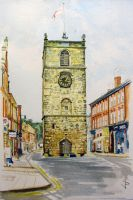 Morpeth Clock Tower by NorthumbrianArtist