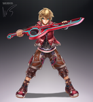 Shulk by hybridmink